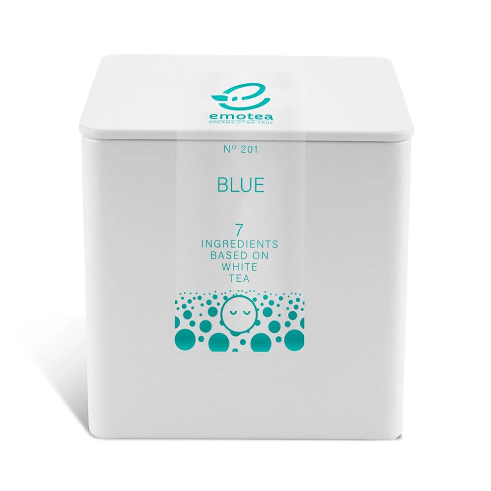 HERBATA Emotea Blue na bazie białej herbaty 45 g