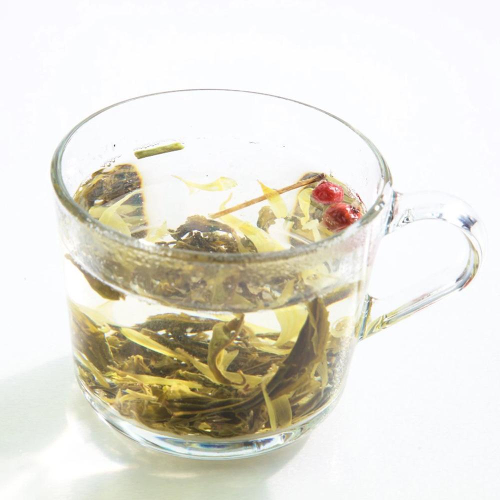 HERBATA Mindfulnessowa Emotea Revival na bazie zielonej herbaty 50 g